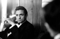 """Johnny Cash — """"Sometimes I am two people. Johnny is the nice one. Cash causes all the trouble. They fight."""""""