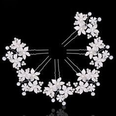 >> Click to Buy << Fashion Women Lady Beautiful Hairpins Crystal For Wedding Simulator Mode Pearl Hair Cilp Hair Band Accessories #Affiliate