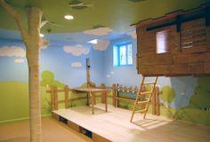 Déco de chambre d'enfant : la cabane intérieure