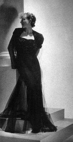 1930's Vogue fashion