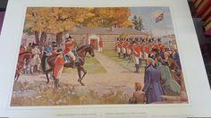 vintage print  Premier Parlement du Haut-Canada by Bookandthings