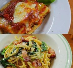 Gourmet Recipes, Healthy Recipes, Overnight Oatmeal, Cream And Sugar, World Recipes, Bologna, Easy Cooking, Lasagna, Food Print