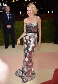 Naomi Watts at the met ball gala 2016