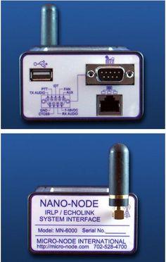 Nano-Node IRLP / echolink Interface Mn-6000