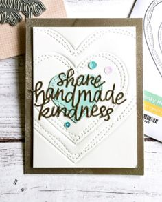 Simon Says Stamp WONKY HEARTS Wafer Dies SSSD111715 Cherished Preview Image