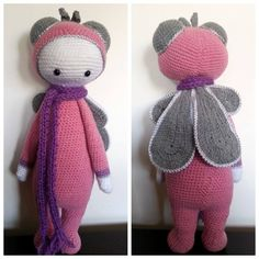 BUZZ the house fly made by Maman Doudou / crochet pattern by lalylala