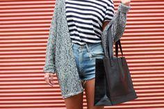 {looks} brandymelville. Brandy Melville, New York, Denim Skirt, About Me Blog, My Style, Skirts, Beautiful, Fashion, Sporty