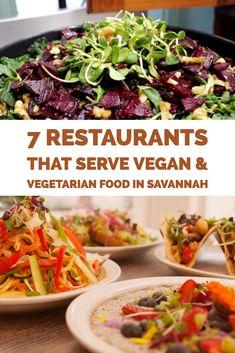 Vegan Vegetarian Restaurants In Savannah Ga