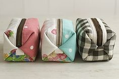 Japanese pouch sewing pattern