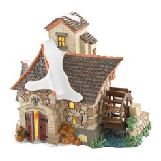 Department 56 Dickens Village Brandon Mill Lit House, 6.1-Inch ** Quickly view this special  product, click the image : Decor Collectible Buildings and Accessories