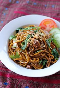 Shanghai-Style Fried Noodles | Food Recipes