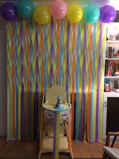 """""""I am one"""" oh the places you'll go photo backdrop and birthday banner :)  By me :) **anne kat**"""