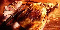 Jambon à l'os rôti My Favorite Food, Favorite Recipes, 20 Min, Garlic, Turkey, Thanksgiving, Cooking Recipes, Bread, Vegetables