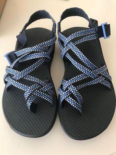 ea1aa33de981 New Chaco Women s Z Eddy X2 Sandals Size 7 J106474 Columns Eclipse Blue   fashion