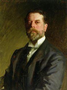 John Singer Sargent, 1906, Self Portrait #art #painting