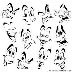 funny face expressions cartoon - Hľadať Googlom