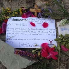 Along the Camino de Santiago in Spain, an activprayer member dedicated a day of hiking to a young girl who was tragically killed in Canada when a soccer goal fell on her. He picked flowers along the way and set up a memorial at the end of the day. It remains there to this day. #caminodesantiago #idedicate #activprayer