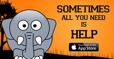 Keep Safe Safari available on the Appstore, Cute elephant friend needs your help. #iosgame http://georiot.co/1ruP