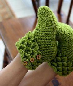 Free Crochet Baby Cowboy Hat Pattern   Crochet Slippers / Crocodile Stitch Boots by sweet.dreams