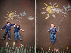t owl photography children photography chalk session Chalk Photography, Children Photography, Amazing Photography, Galery Photo, Chalk Photos, Chalk Design, Family Picture Poses, Chalk Drawings, Sidewalk Chalk