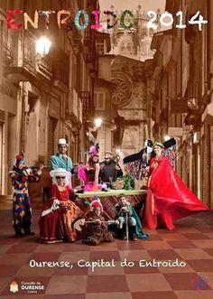 "ESPAÑA (V., 14 FEB 2014) ||||| CARNAVAL OURENSE, DEL 20 FEB AL 5 MAR 2014. ""Carnaval Ourense 2014"". Programa completo. Ocio en Galicia"
