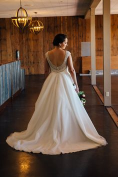 Our Bride! Allure bridal gown. Find this wedding dress at Janene's Bridal Boutique located in Alameda, Ca. Contact us at (510)217-8076 or email us info@janenesbridal.com for more information.