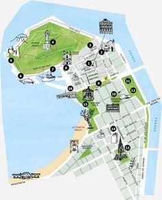 Gros Map #SanSebastian #Euskadi #Tourism | Spain | Pinterest ...