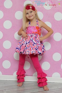 Girls Bubble Skirt and Top Sewing Pattern from Create Kids Couture