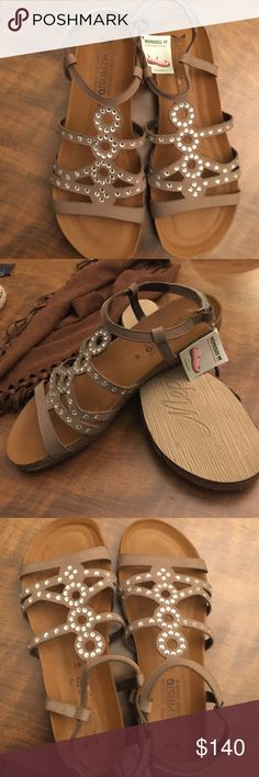 62c4729e01330 New Mephisto sandles with rhinestones These are new and if you have never  worn them they