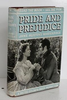 200 Years of 'Pride and Prejudice' Book Design - Entertainment - The Atlantic Wire (Apparently they've been making movie covers for books since at least 1944.)