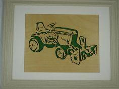 Micro tracteur John Deere 317 et 49 souffleuse à par KevsKrafts