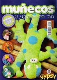 Revistas de manualidades Gratis: Como hacer muñecos y juguetes de tela
