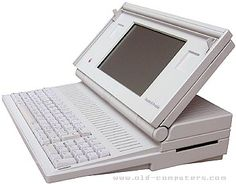 Apple MACINTOSH Portable, I remember using these for some story-writing thing in 4th grade!