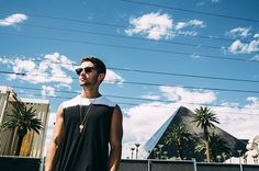 Jake Miller poses backstage of the iHeartRadio Village in Las Vegas on Saturday, Sept. 20, 2014.