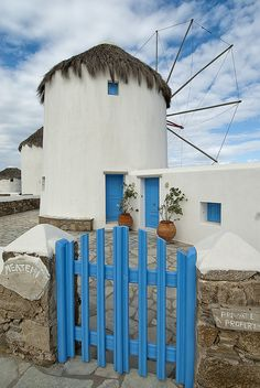 Converted Windmill House | Mykonos, Greece