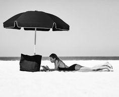 My Life Aquatic umbrella, towel & bag Life Aquatic, Seaside, My Life, Towel, Patio, Outdoor Decor, Instagram Posts, Bags, Handbags