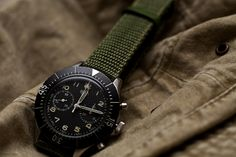 Heuer Bundeswehr by e n n e a, via Flickr