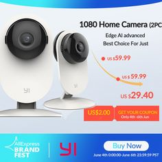 YI 1080p Home Camera Indoor Security Surveillance System Price: 26.54 & FREE Shipping #allgadgetdealz Camera Surveillance System, Security Surveillance, Security Camera, Lens Distortion, Home Camera, Emergency Response, Noise Reduction, Wide Angle Lens, Night Vision
