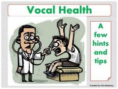VOCAL HEALTH PowerPoint Presentation.22 slides.A valuable resource for vocal/singing teachers and choir/choral directorsThe slides cove...