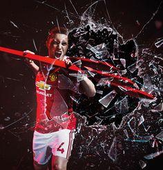 Phil Jones | Adidas Manchester United 2015/16 kit launch