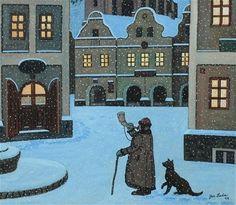 CZECH CHRISTMAS CARD