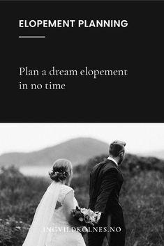 So planen Sie eine Last-Minute-Elopement Elope Wedding, Wedding Couples, Paris Wedding, Wedding Advice, Wedding Planning Tips, Wedding Ideas, Romantic Weddings, Small Weddings, Barn Weddings