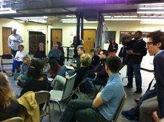 More brainstorming at the Mayor's Kickoff, Jan 2013
