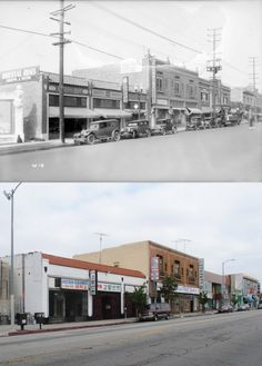 West side of Western Avenue north of Fourth Street, 1927-2013