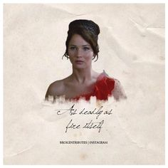 Hunger Games Quote / Katniss Everdeen's Interview