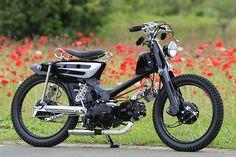 MacKatin     Si hubiera que buscar un crack en el mundo de las motos este sería sin ningún tipo de dudas el Honda Cub. Desde que empezó a...