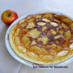 Clafoucrêpe à la pomme - Les délices de Baradozic