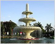 Sukhadia Circle: Sukhadia Circle, also known as Sukhadia square, is a majestic turn around in Panchwati, this square, opened in 1970, has a magnificent three tiered fountain in the center and a structure representing the prosperity. This place is used as a evening relaxation place with beautiful gardens and a nice pond. This square attracts many, especially children. Children make funs in the lawns and float toy boats in the pond. There are some duck shaped paddle boats.