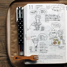 Seaweed Kisses: The Journal Diaries- Ryo's Hobonichi Journal Project