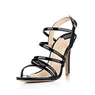 Patent Leather Women's Stiletto Heel   Open Toe Sandals Shoes  with Buckle. Get sizzling discounts up to 70% at Light in the box using Coupon and Promo Codes.
